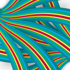 Vector background abstract stripe lines.