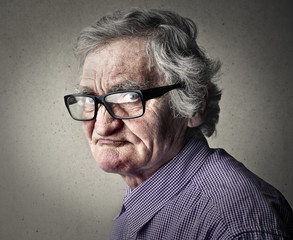Elderly man's portrait