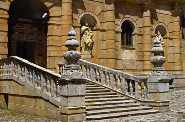 Main entrance certosa di padula, Italy