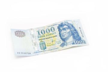 Hungarian Forint Banknote - 1000 HUF
