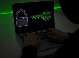 Laptop Hacker Code