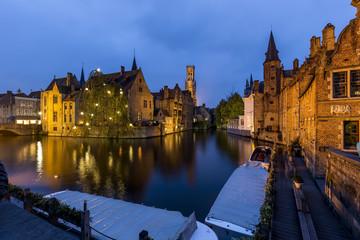 Aluminium Prints Bridges Bruges, Belgium