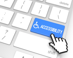 """OER - Accessibility Community Portal"" icon"