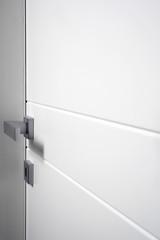 particular white closed door
