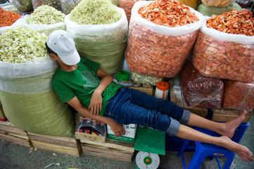 Markt in Ho-Chi-Minh-Stadt