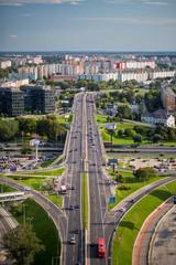 Bratislava-modern city skyline