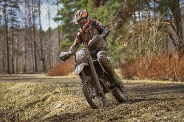 Motocross driver