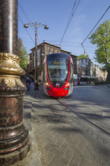 Istanbul city train