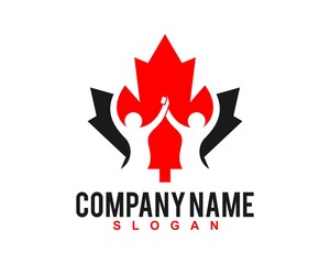 canada people logo template 52