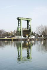 Grosse Kanalschleuse, Wesel-Datteln-Kanal, Datteln, Deutschland