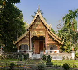Beautiful Temple in Northern Thailand