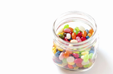 Jelly Beans in a bottle