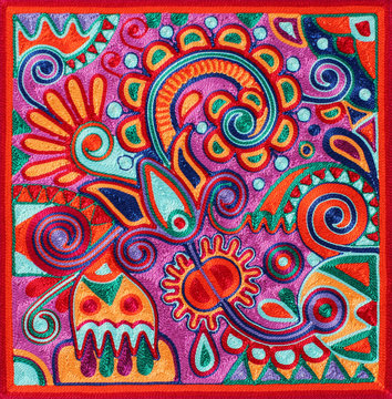 authentic ukrainian yarn painting
