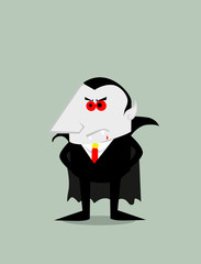 Cartoon Dracula