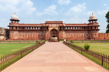 Jahangir Palace, Agra Fort, India. Fototapete