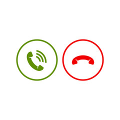 Phone call icons