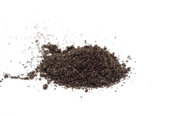 Ground poppy seed