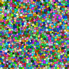 Abstract background with abstract shapes. Vector. 2