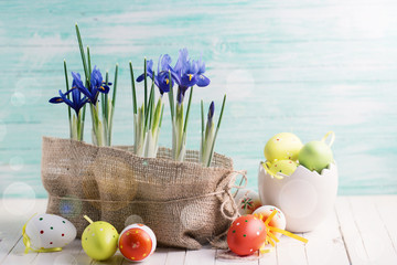 Easter background.