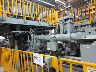 Extrusion aluminium machine