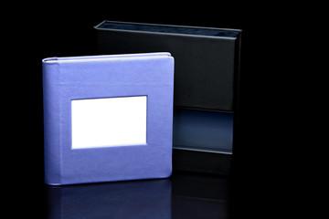 Purple photoalbum