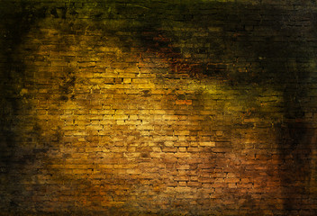 Sullen brick wall
