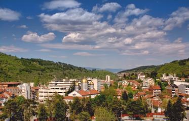 Dupnitsa town center, Bulgaria