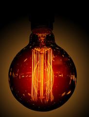 illuminated decorative lamp with original and beautiful spiral