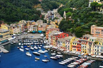 City of Portofino, Liguria, Italy