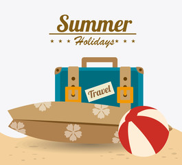 Summer design, vector illustration.