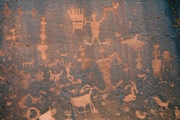 Indianer Mythologie Felszeichnungen Utah