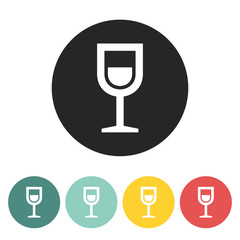 Shot drink icon.