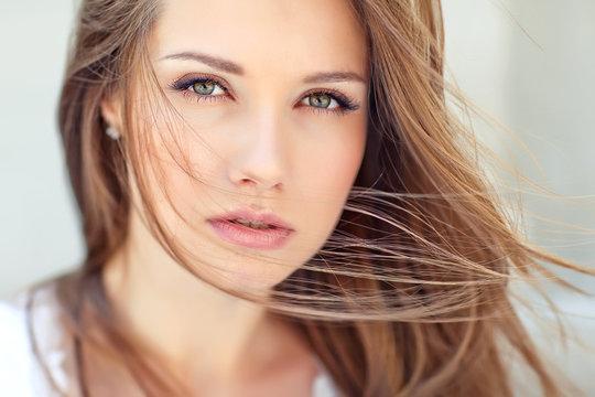 Portrait of a beautiful woman