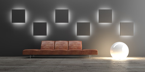 Wohnen, Interior, Design, Sofa,