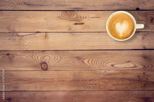 Coffee on wood table texture with space for text stock for Coffee table texture