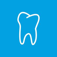 Tooth white icon