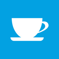 Cup white icon