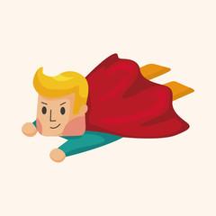 superman theme elements