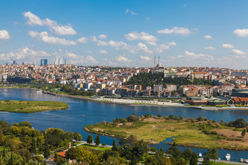 View of Istanbul and the Golden Horn