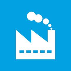 Factory white icon