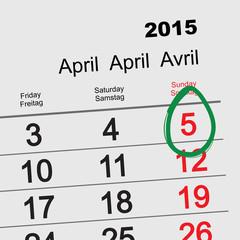 April 5, 2015 - Catholic Easter