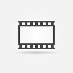 Vector film strip logo