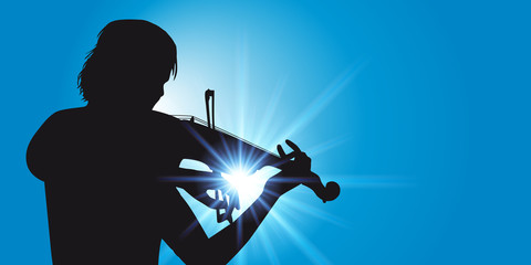Musique Violoniste