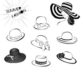Summer fashion_hats