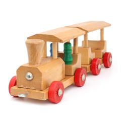 Petit train en bois