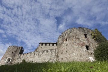 Il Castello di Gorizia fra le nuvole