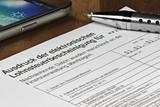 ausdruck aus der elektronischen lohnsteuerbescheinigung