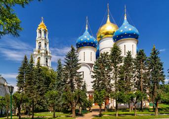 Assumption Cathedral in Trinity Sergius Lavra, Sergiyev Posad