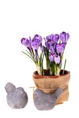 Easter symbols.