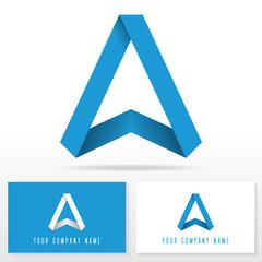 Letter A logo icon design - vector sign